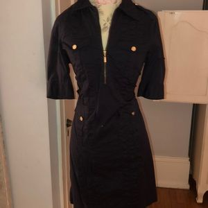Tory Burch military style dress